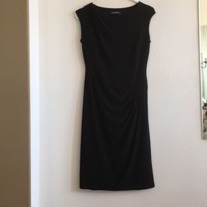 Lauren Ralph Lauren black sleeveless dress